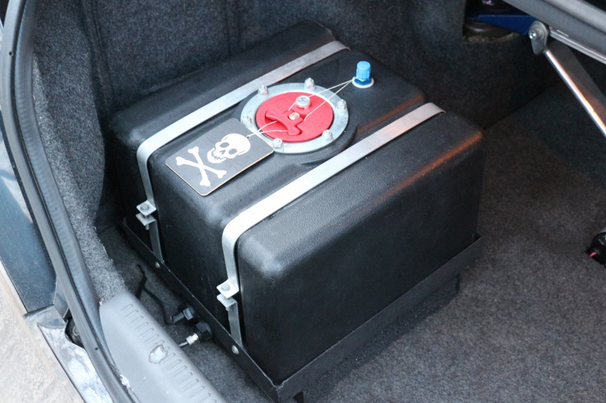 Перенос бензобака в багажник