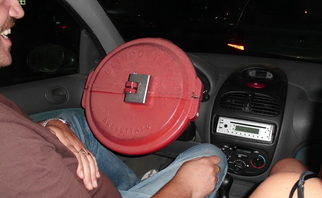 Противоугонка на руль
