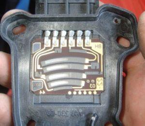 Электрическая педаль газа в разборе