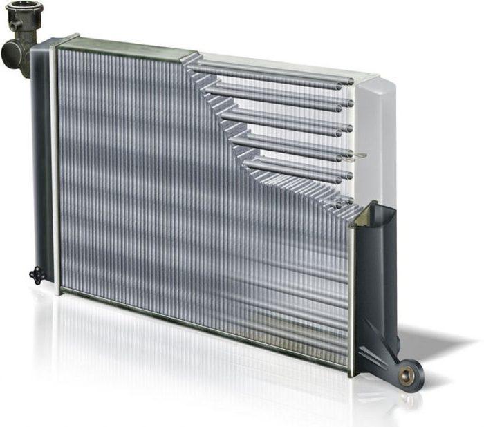 Типичный радиатор
