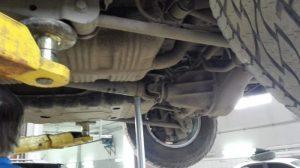 Демонтаж кардана