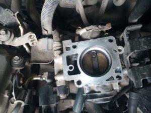 Чистка дроссельной заслонки ВАЗ 2114 без снятия