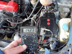Замер напряжения на генераторе ВАЗ 2109