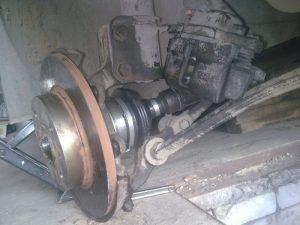 Замена ШРУСа ВАЗ 2109